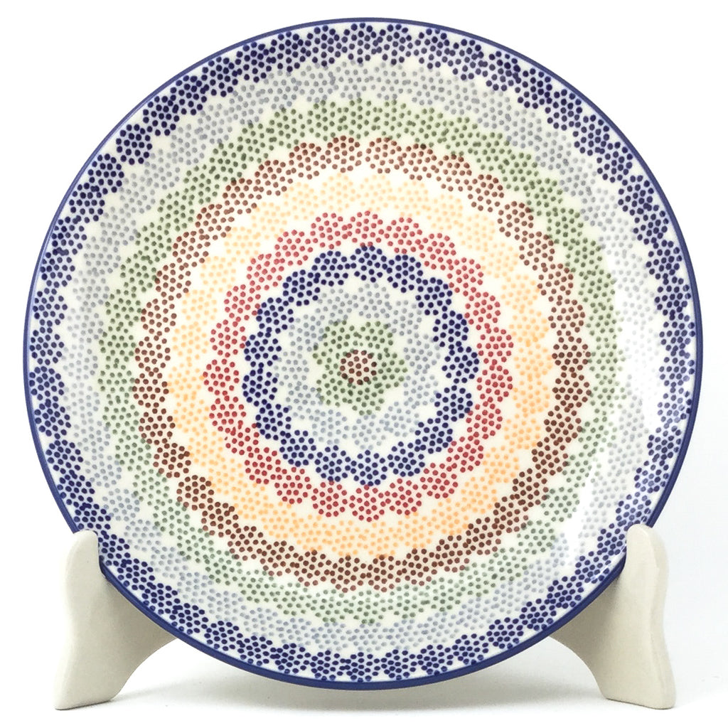 Luncheon Plate in Modern Dots