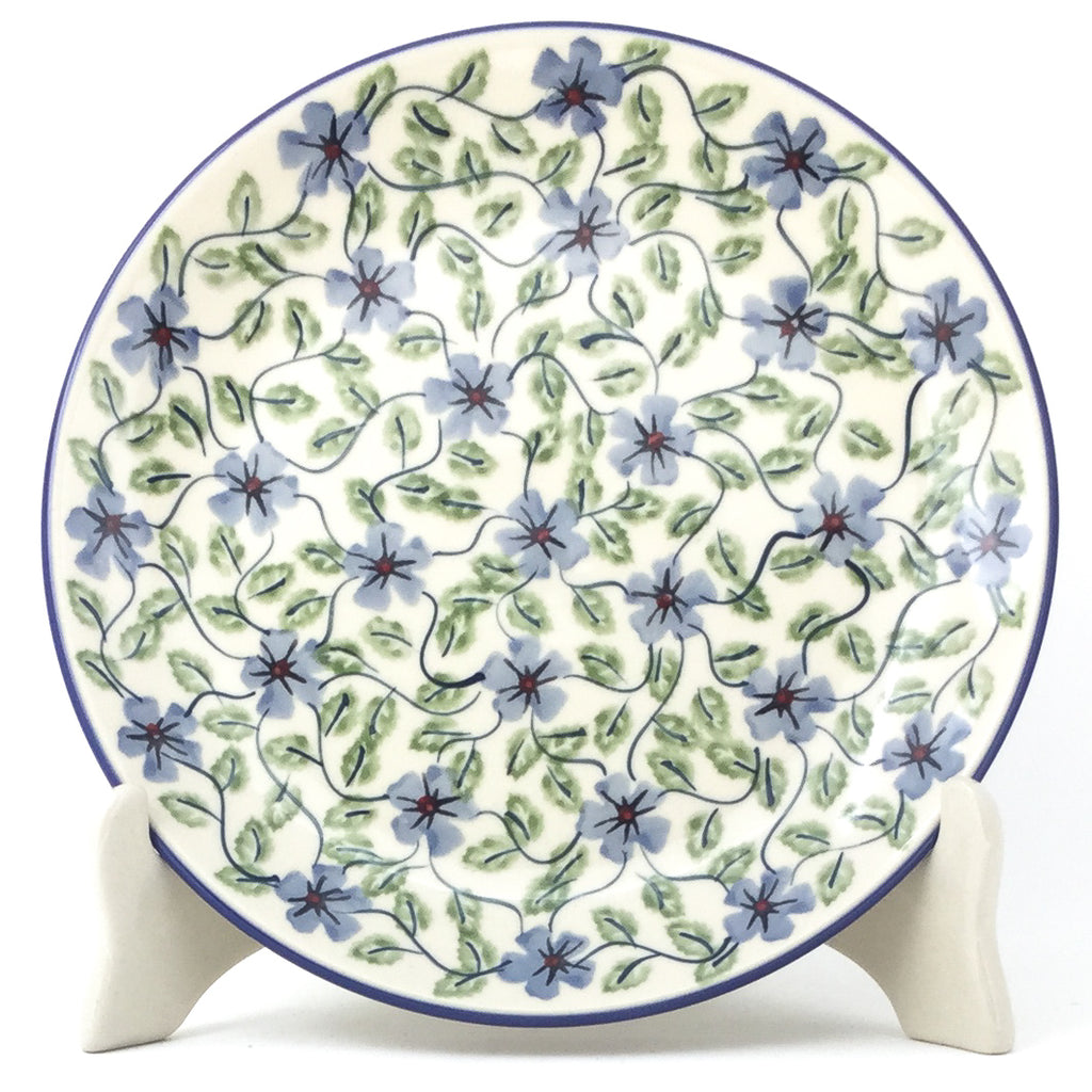 Luncheon Plate in Blue Clematis