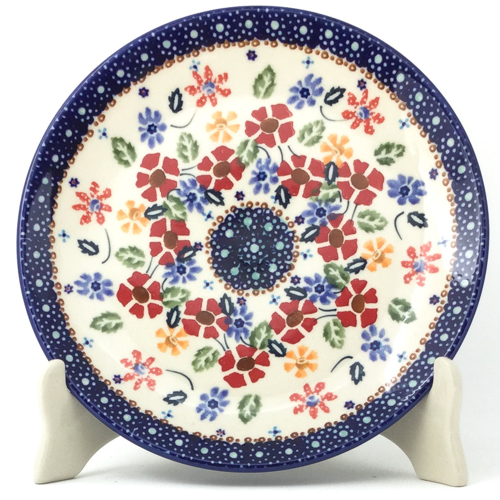 "Rd Luncheon Plate 8.5"" in Wild Flowers"