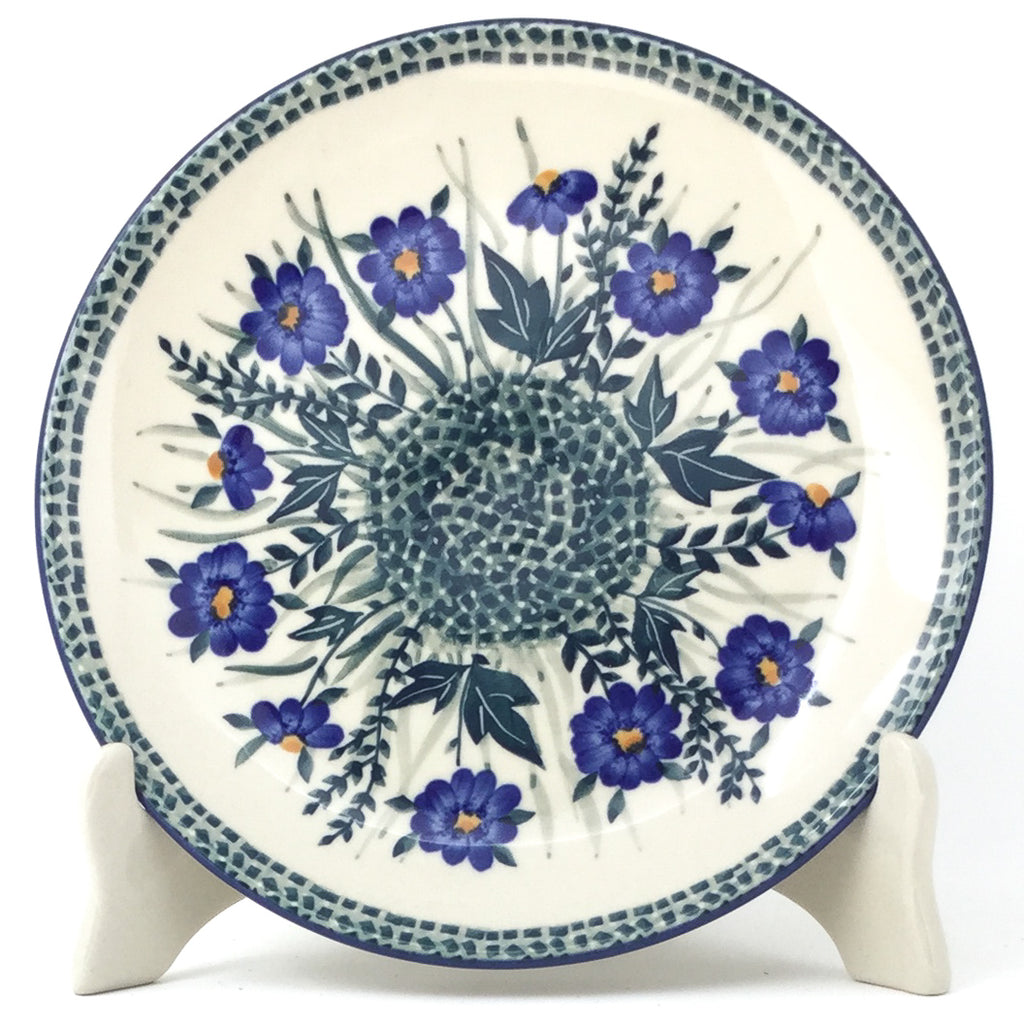 Luncheon Plate in Wild Blue