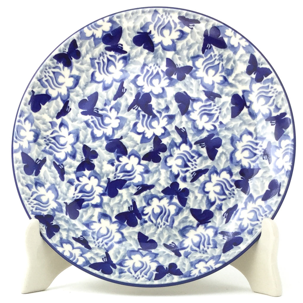 Luncheon Plate in Blue Butterfly