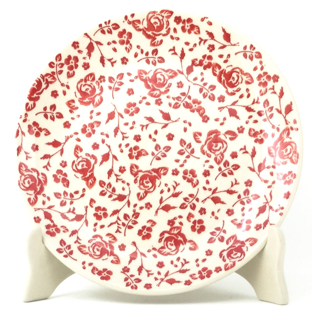 Luncheon Plate in Antique Red