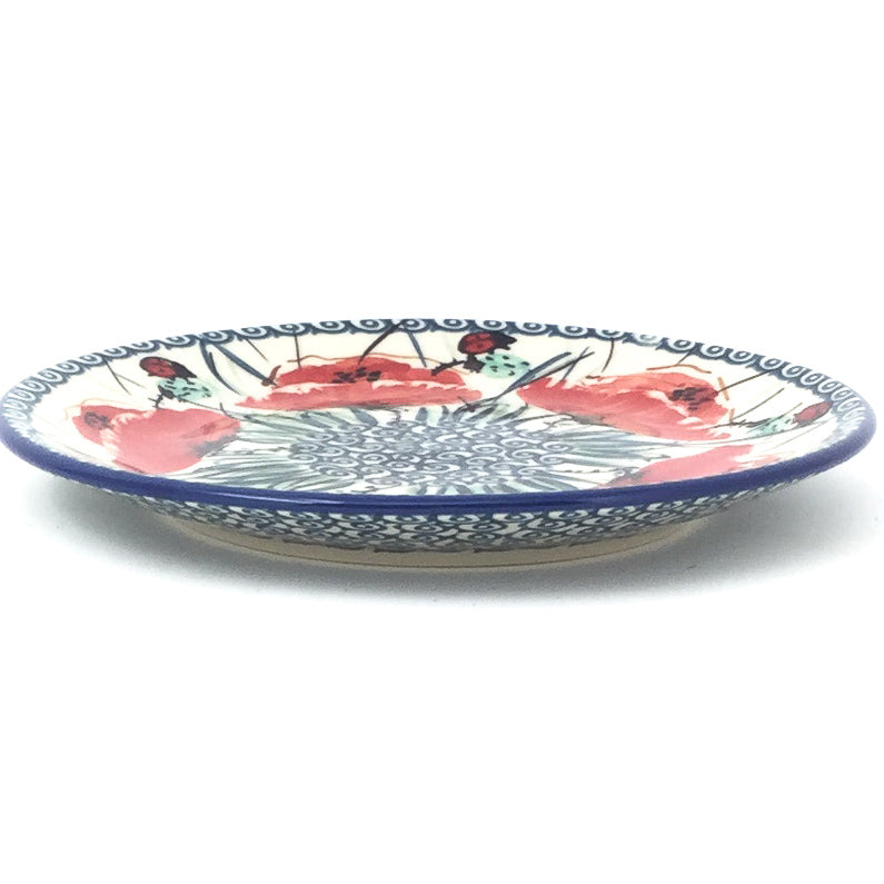 Bread & Butter Plate in Polish Poppy