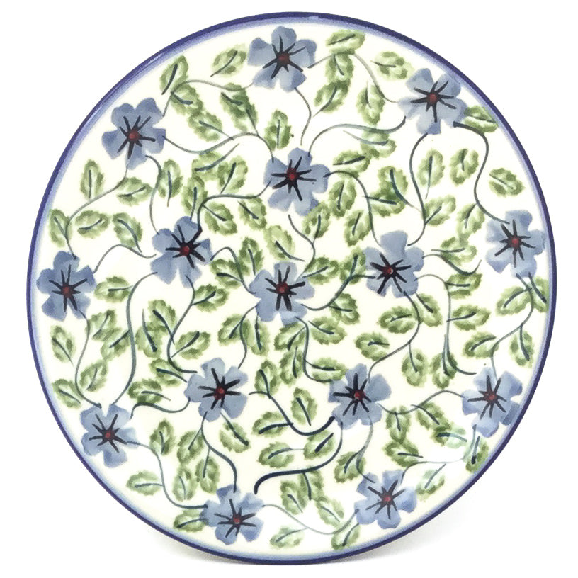 Bread & Butter Plate in Blue Clematis