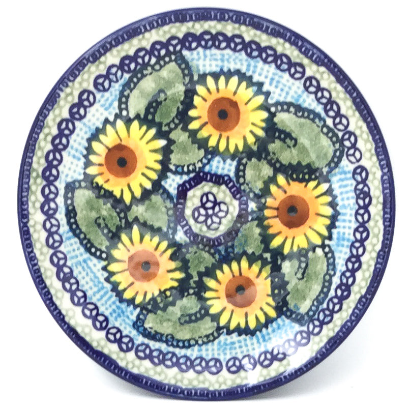 Bread & Butter Plate in Sunflowers