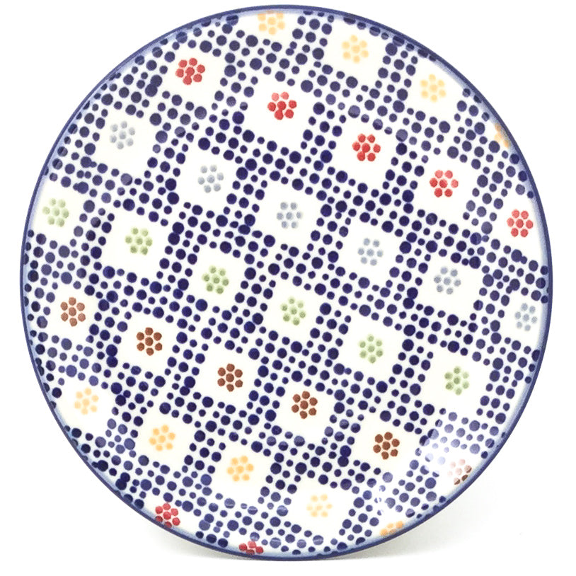 Bread & Butter Plate in Modern Checkers