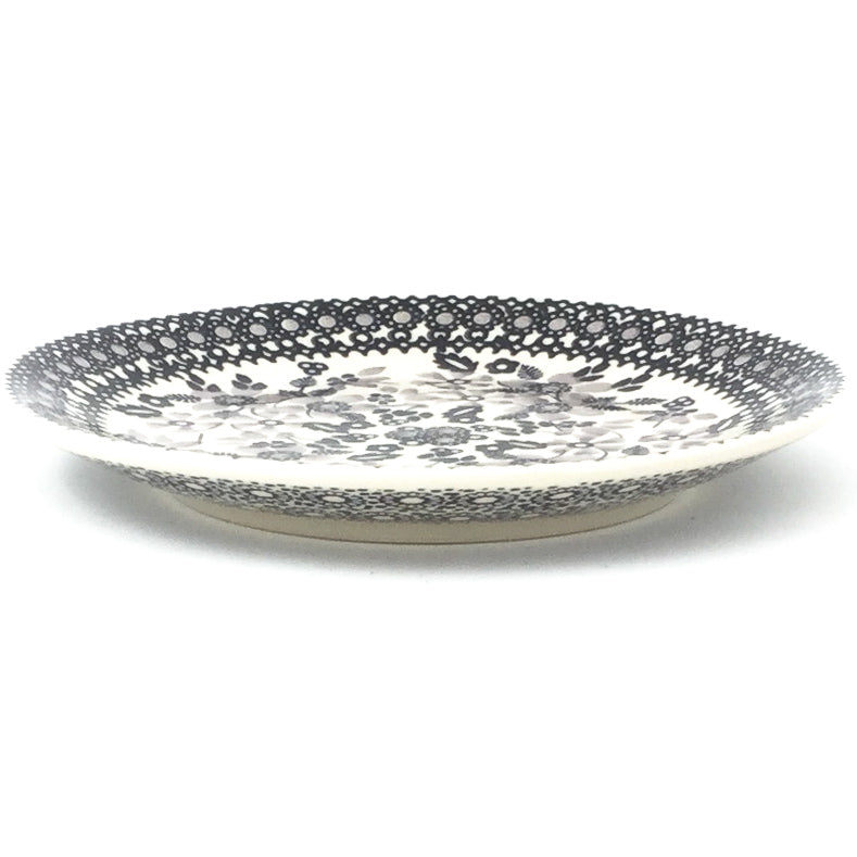 Bread & Butter Plate in Gray & Black
