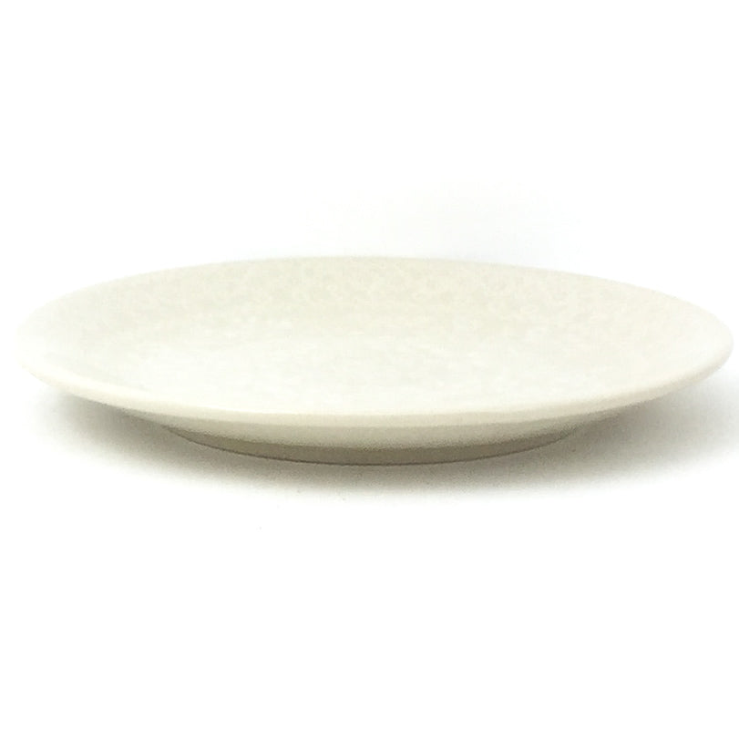 Bread & Butter Plate in White on White