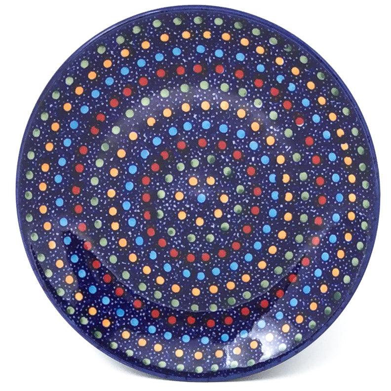 Bread & Butter Plate in Multi-Colored Dots