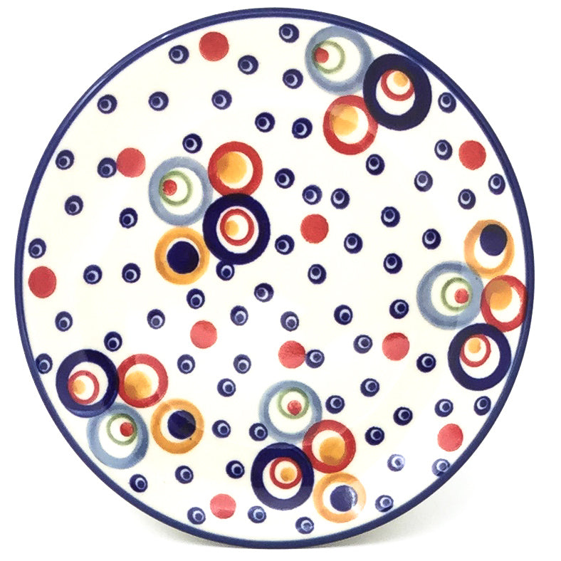 Bread & Butter Plate in Modern Circles