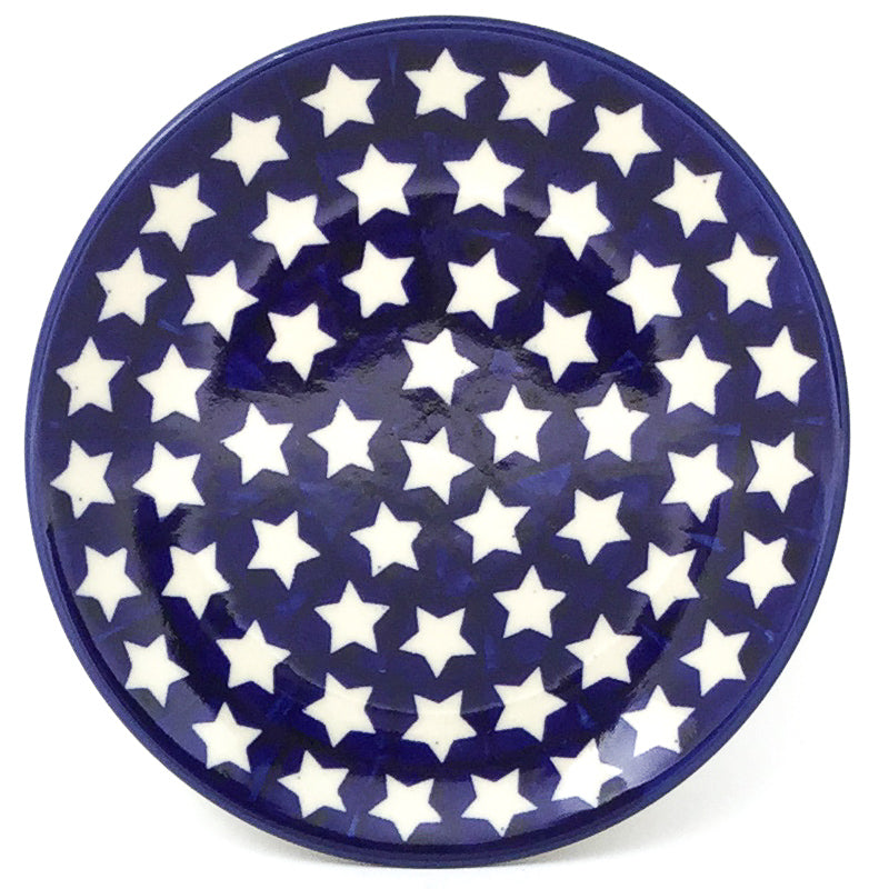 Bread & Butter Plate in White Stars