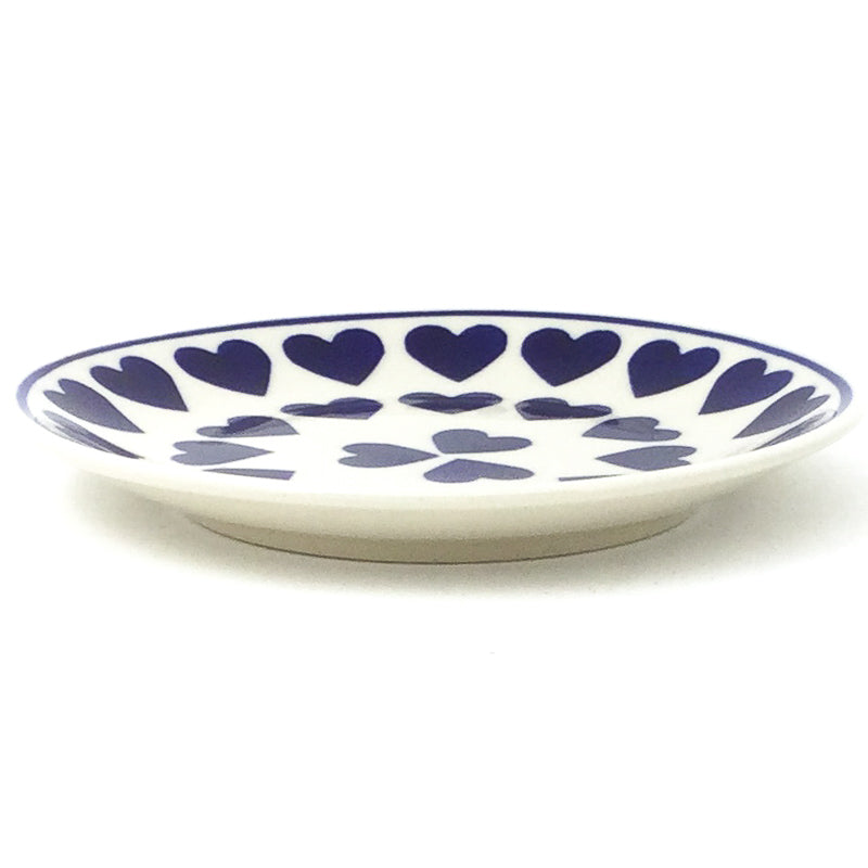 Bread & Butter Plate in Large Hearts