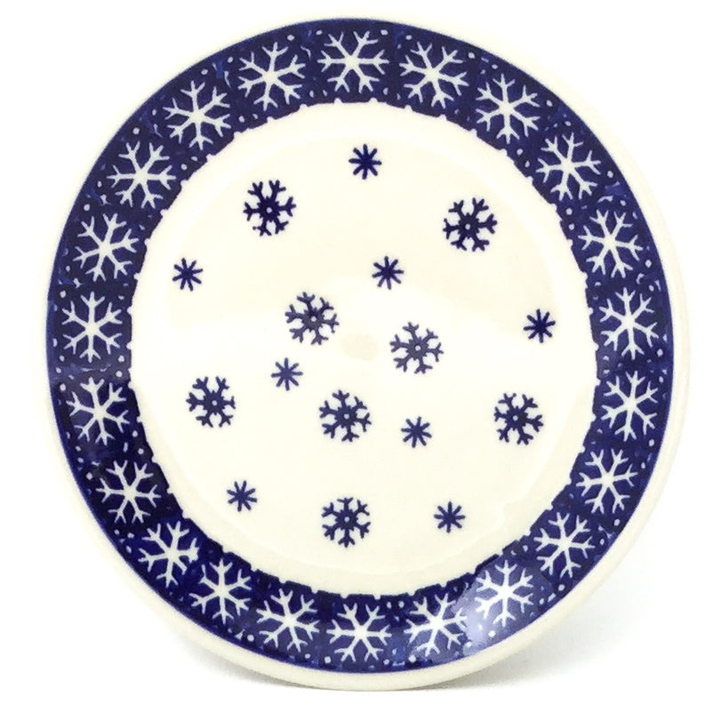 Bread & Butter Plate in Snowflake