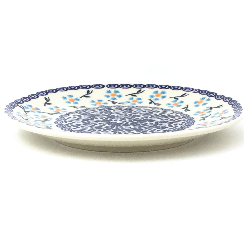 Bread & Butter Plate in Blue Daisy