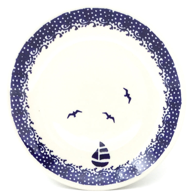 Bread & Butter Plate in Sailboat