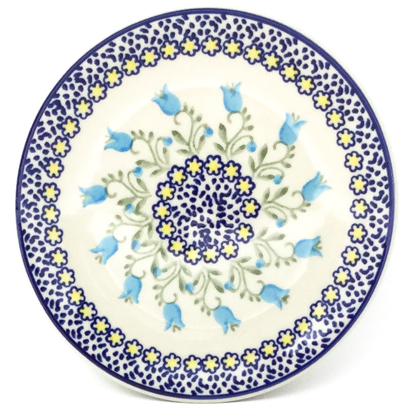 Bread & Butter Plate in Blue Tulips