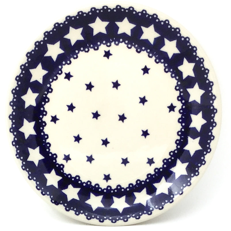 Bread & Butter Plate in Blue Stars