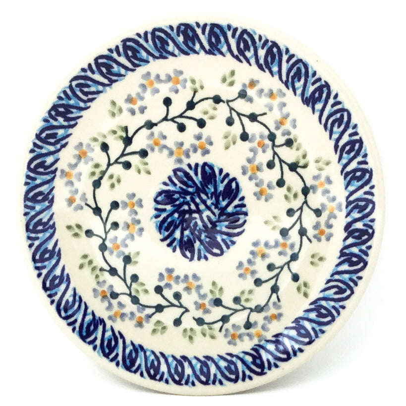 Bread & Butter Plate in Blue Meadow