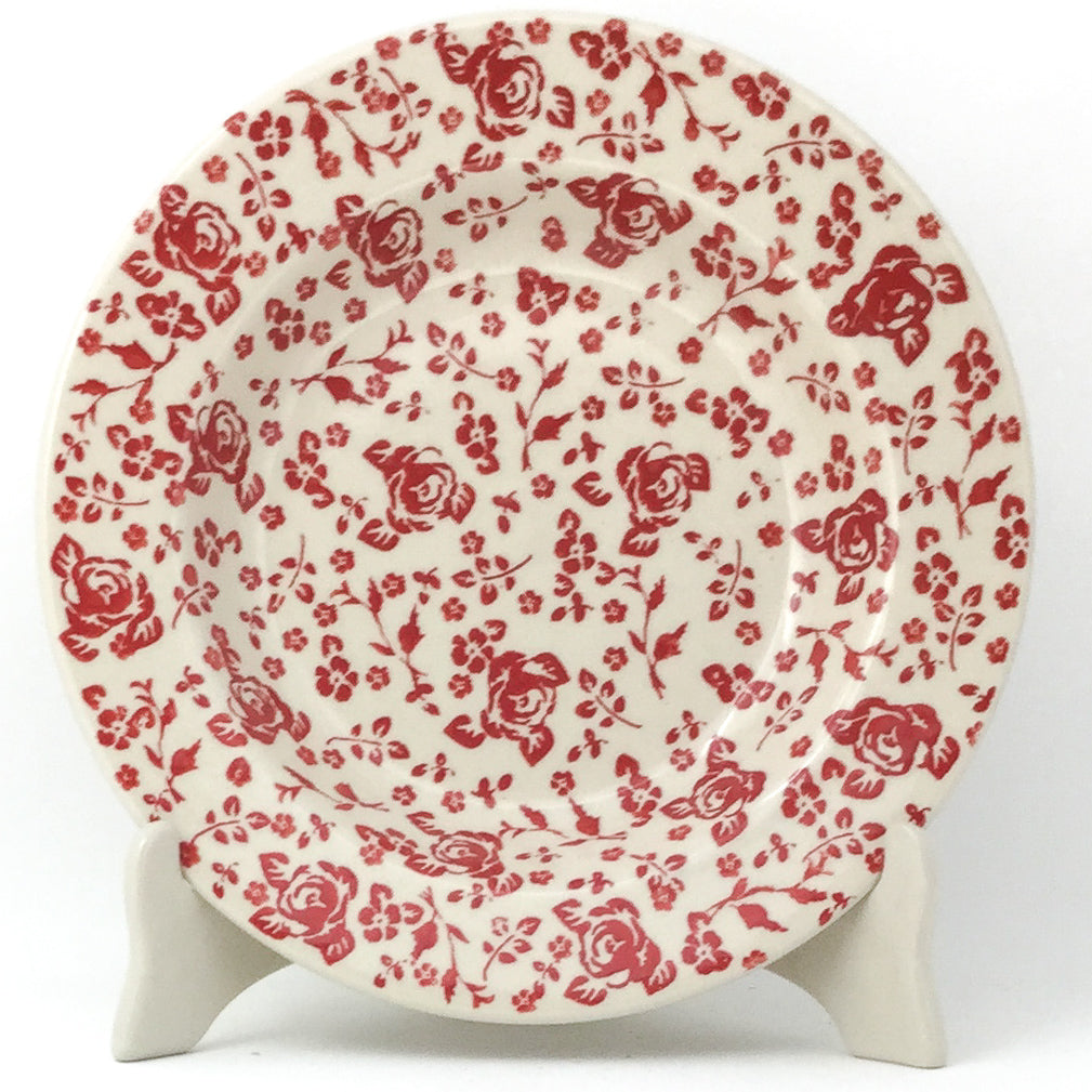 Soup Plate in Antique Red