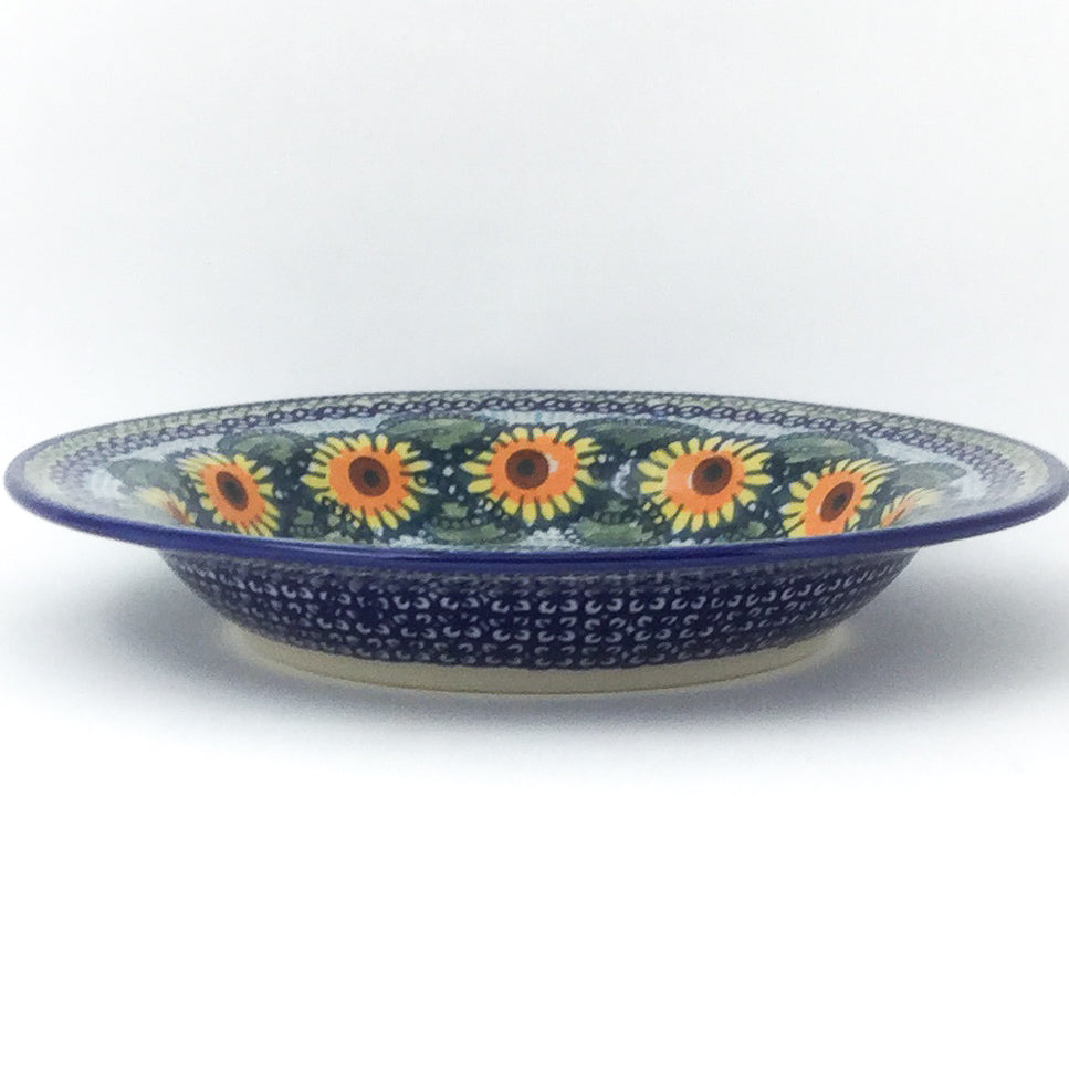 Soup Plate in Sunflowers