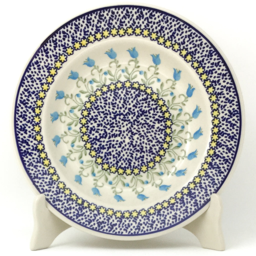 Soup Plate in Blue Tulips