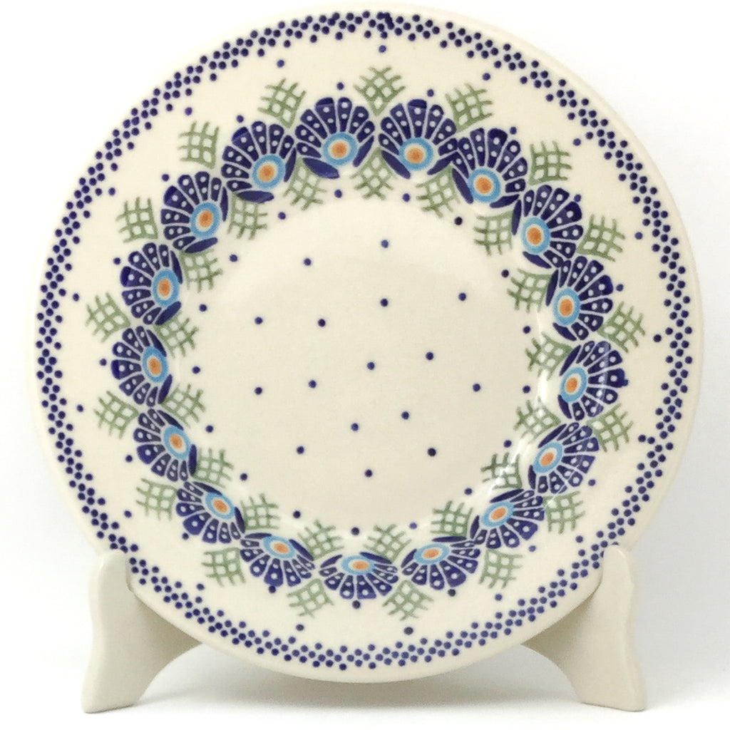 Soup Plate in Peacock Feathers