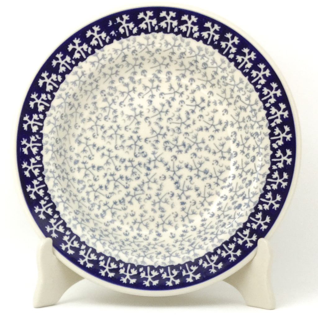 Soup Plate in Light & Dark Snowflake