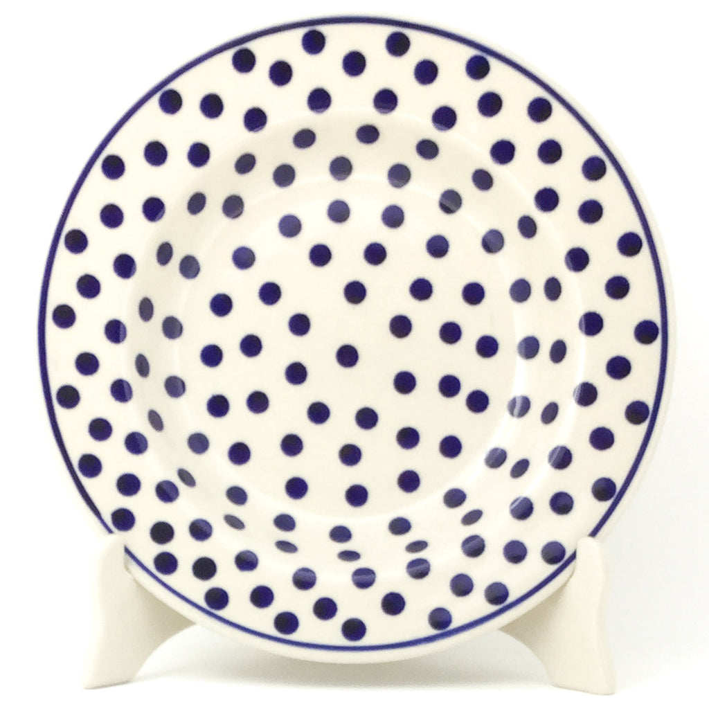 Soup Plate in Blue Polka-Dot