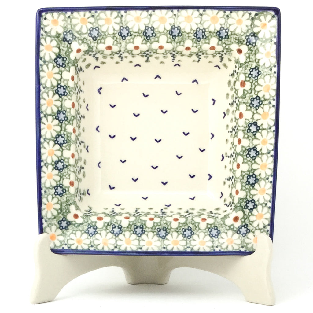 Square Soup Plate in Spring