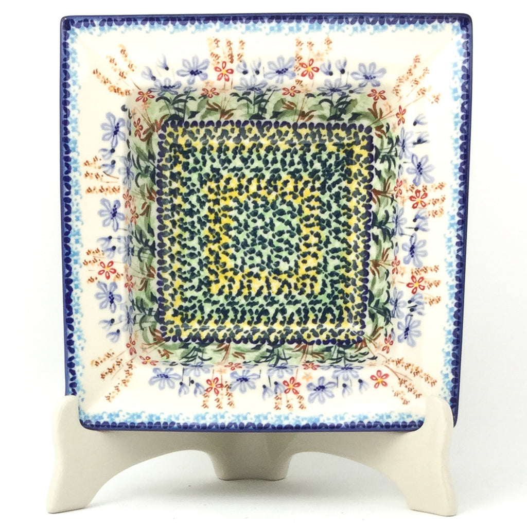 Square Soup Plate in Country Spring