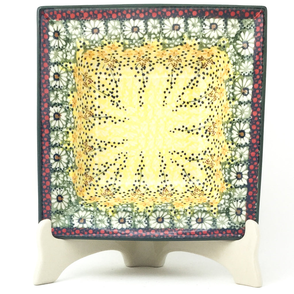 Square Soup Plate in Cottage Decor