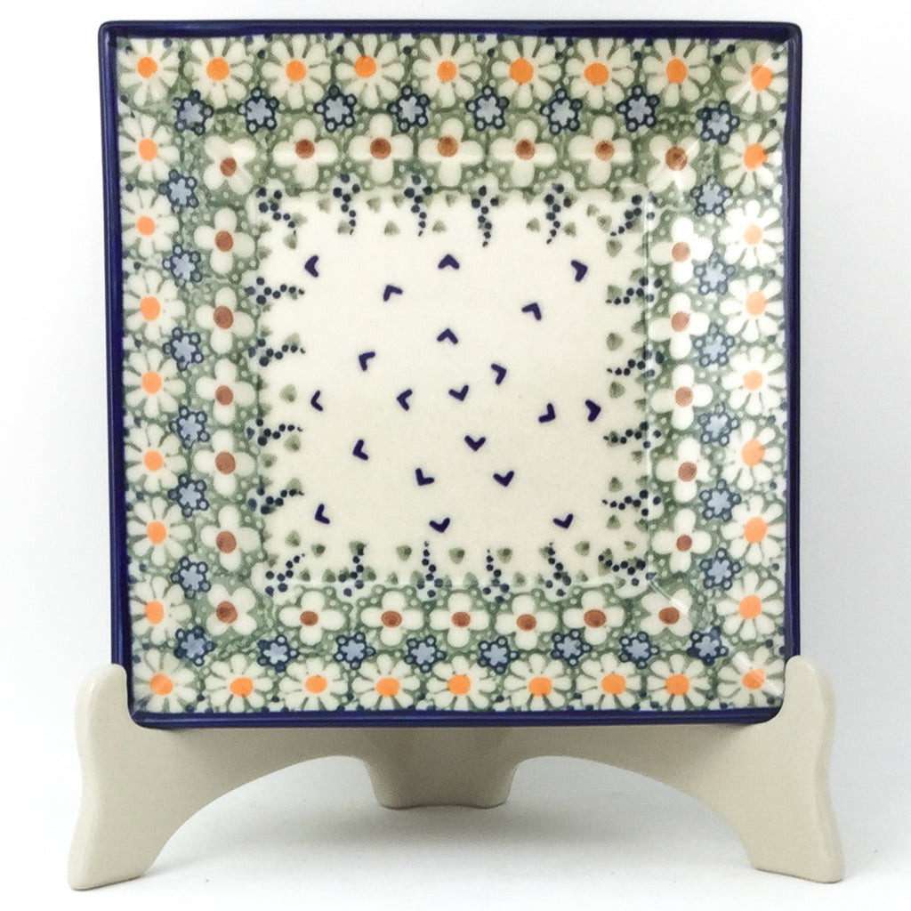 Square Luncheon Plate in Spring