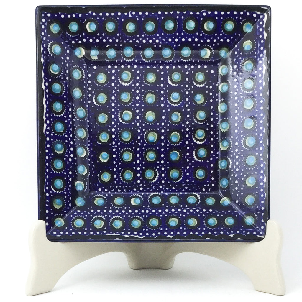 Square Luncheon Plate in Blue Moon
