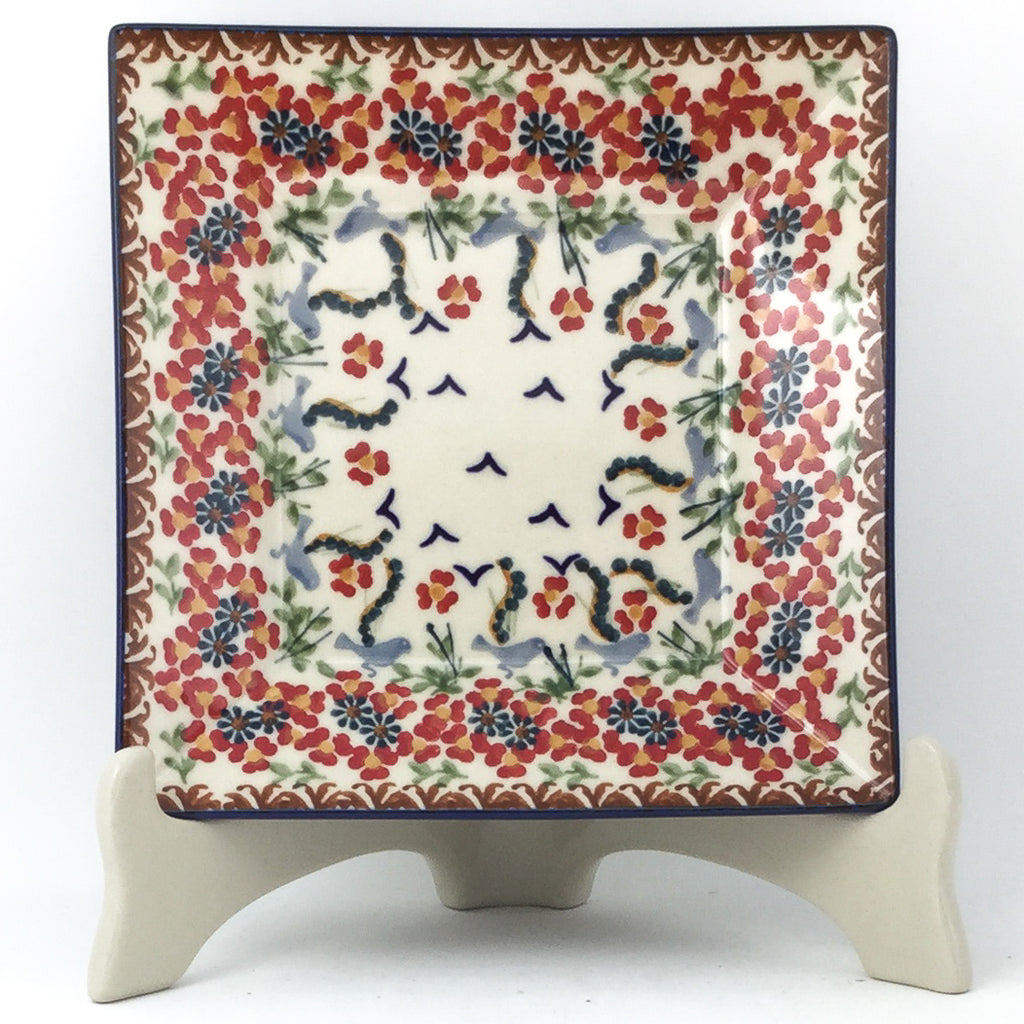 Square Luncheon Plate in Simply Beautiful