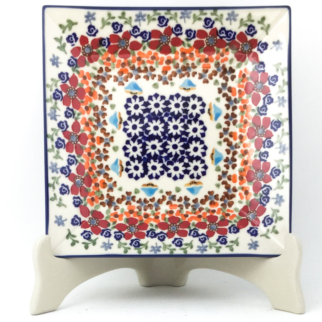 Square Luncheon Plate in Summer