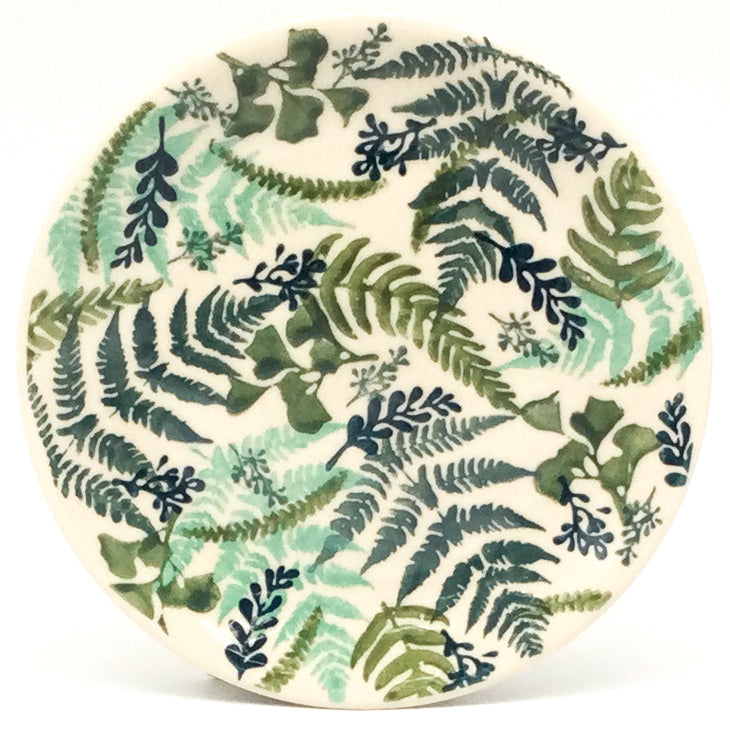 Square Luncheon Plate in Forget-Me-Not