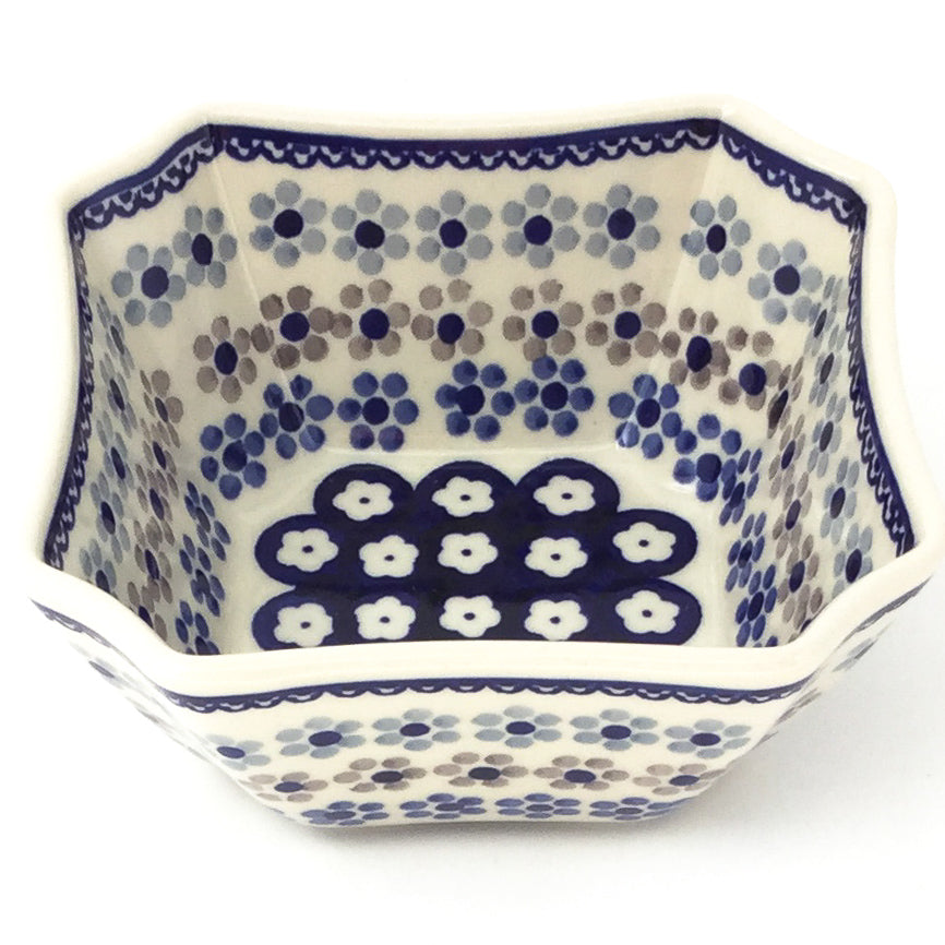 Square Soup Bowl 16 oz in Simple Daisy