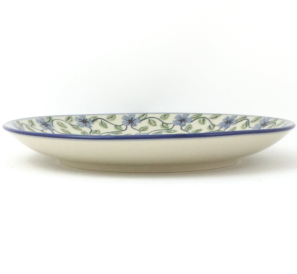 "Dinner Plate 10"" in Blue Clematis"