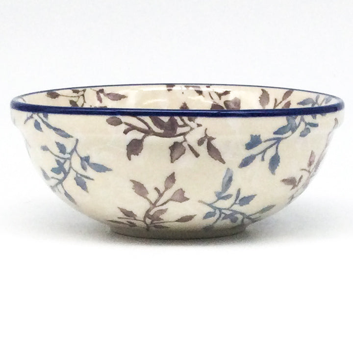 Divided Plate in Purple & Gray Flowers