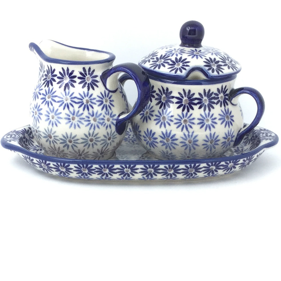 Creamer & Sugar Set w/Tray in All Stars