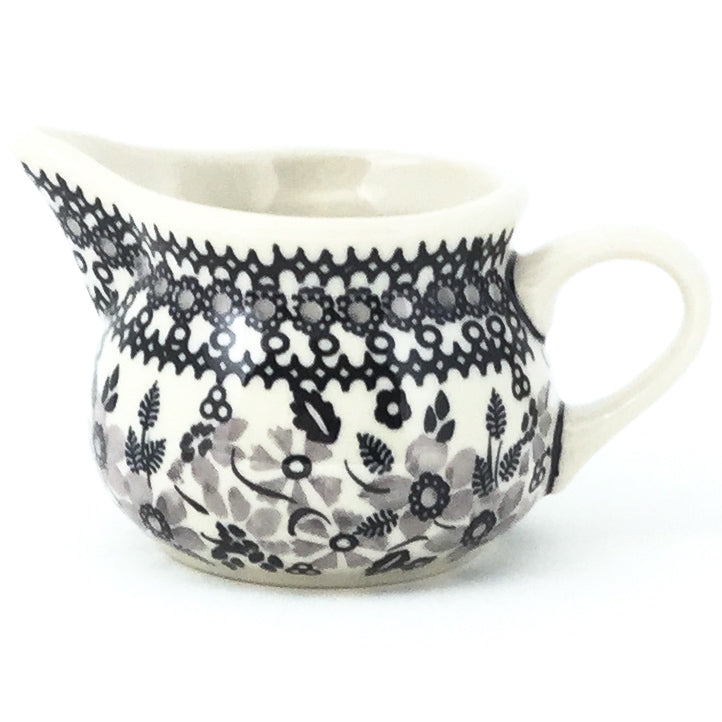 Creamer 6 oz in Gray & Black