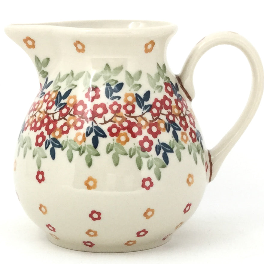Family Style Creamer 16 oz in Tiny Flowers