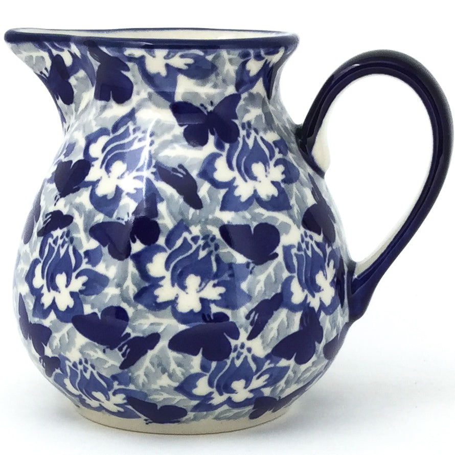 Family Style Creamer 16 oz in Blue Butterfly