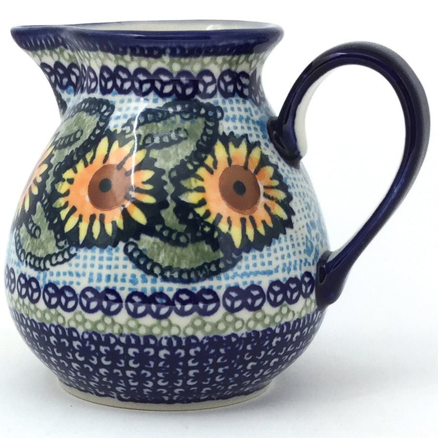 Family Style Creamer 16 oz in Sunflowers