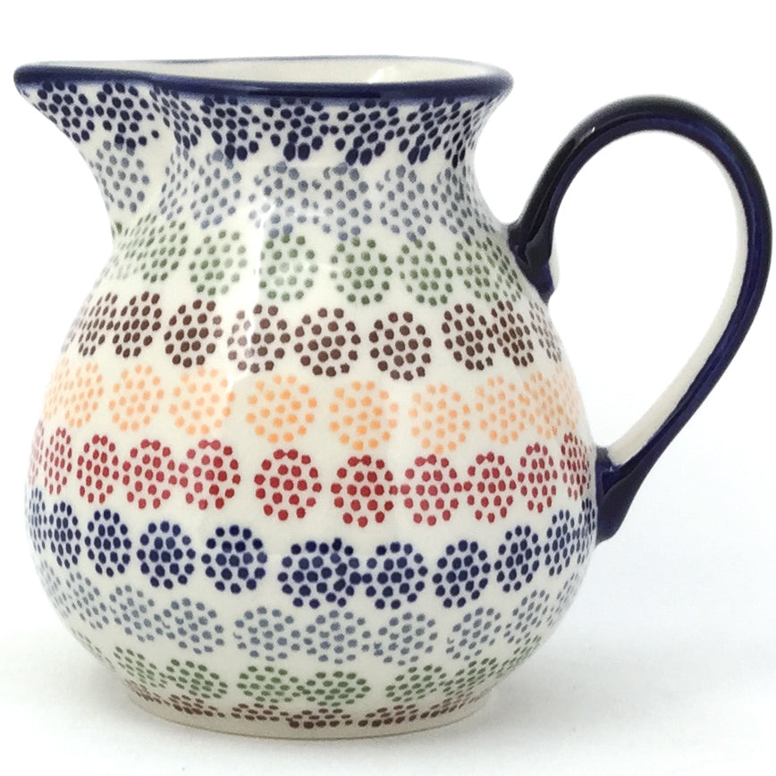 Family Style Creamer 16 oz in Modern Dots