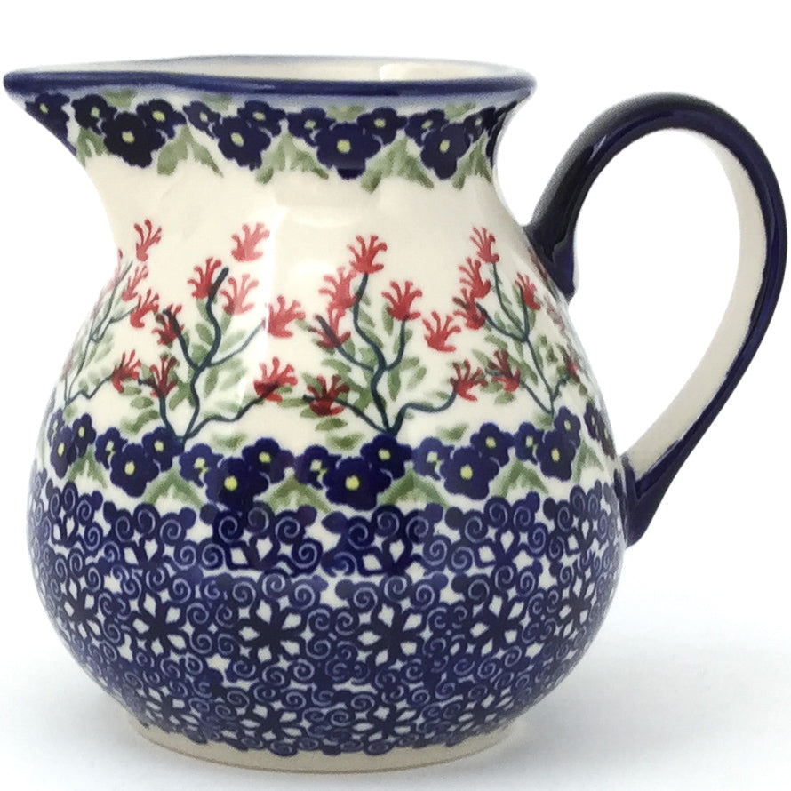 Family Style Creamer 16 oz in Field of Flowers