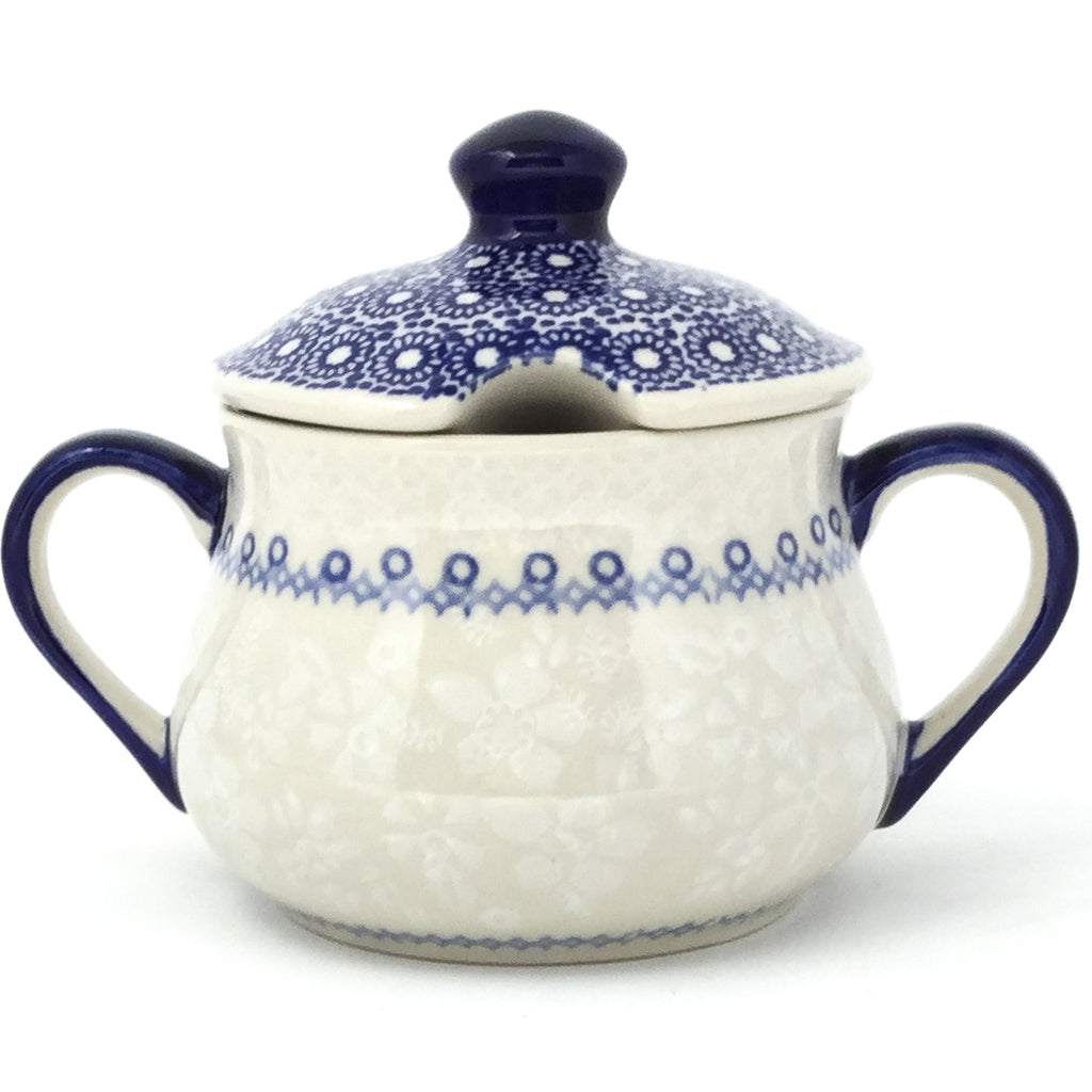Family Style Sugar Bowl 14 oz in Delicate Blue