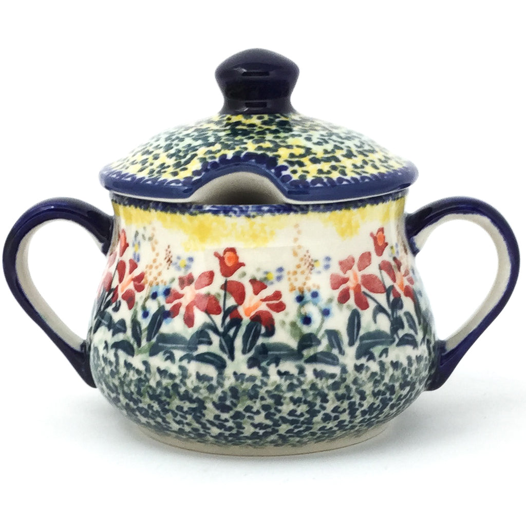 Family Style Sugar Bowl 14 oz in Country Summer