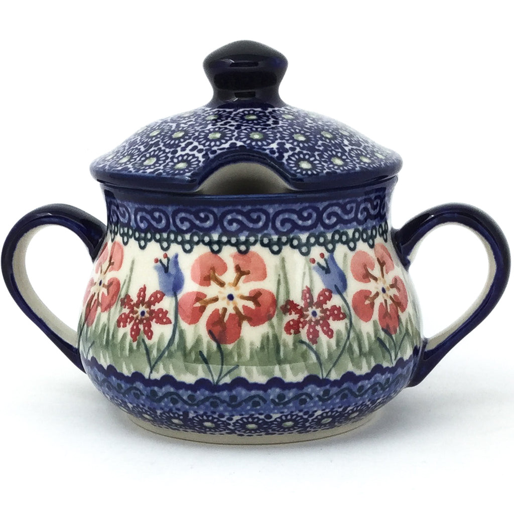 Family Style Sugar Bowl 14 oz in Spring Meadow