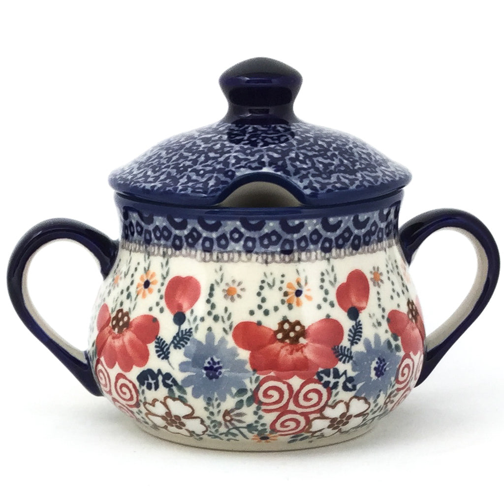 Family Style Sugar Bowl 14 oz in Perennial Garden